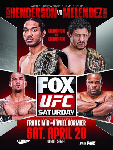 UFC on Fox 7 – Henderson vs. Melendez